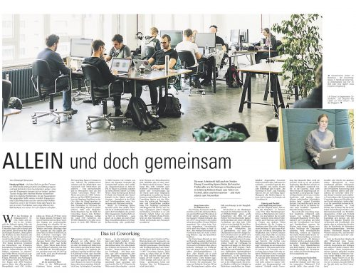 Co-Working-Bericht in der DLZ